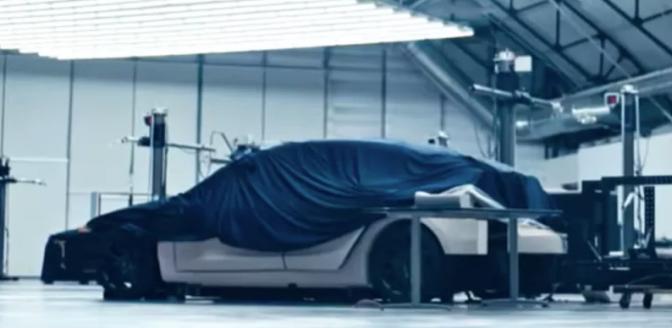 Tesla nieuwe auto Elon Musk
