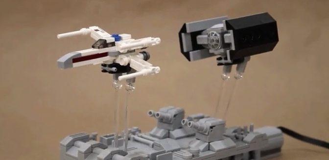 Star Wars desk toy