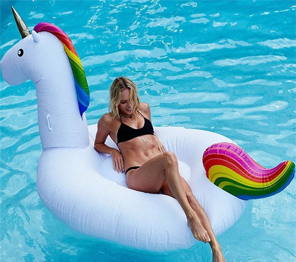 AliExpress drijvende eenhoorn zomer zwembad