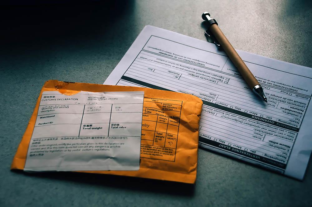 AliExpress pakketje