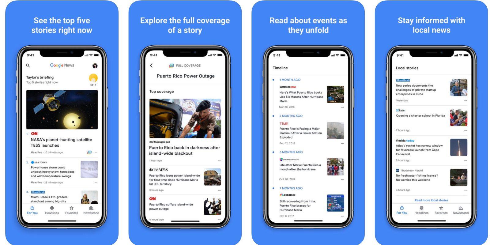 Google news beste apps