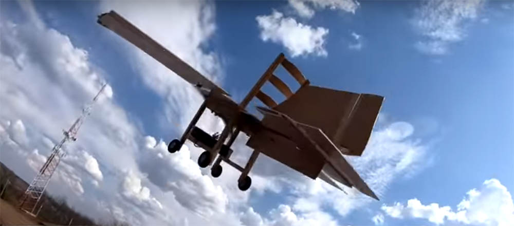 Ikea stoel vliegtuig chairplane