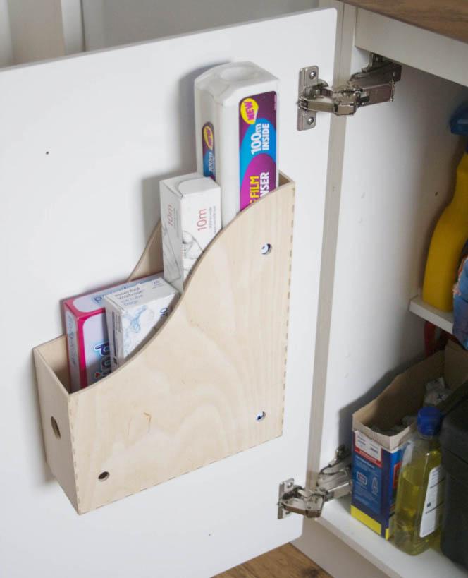 Ikea Hack Knuff lectuurbak