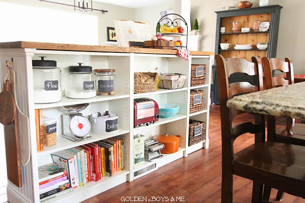 Keuken Met Boekenkast : Vijf ikea hacks voor een georganiseerde keuken want