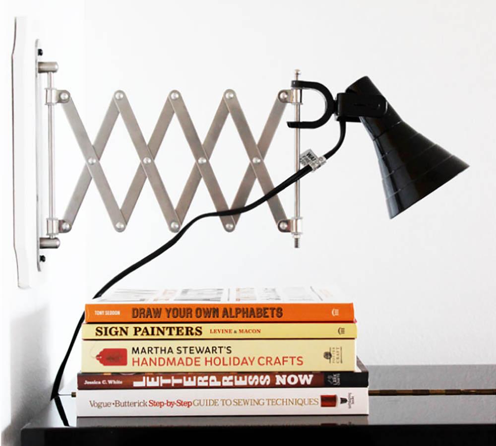 Ikea hack leeslamp