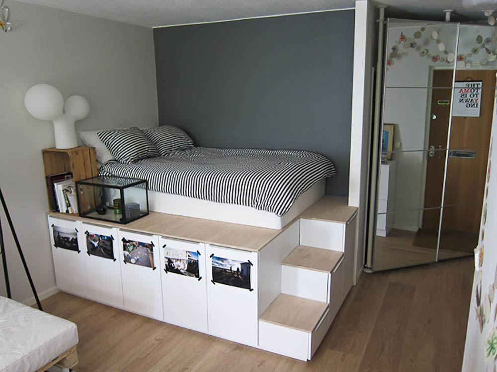 Te Kleine Slaapkamer : Vijf ikea hacks om je slaapkamer aan te pakken want