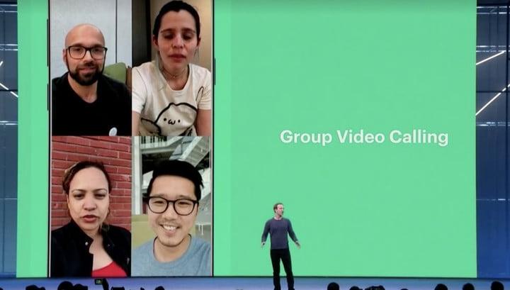 WhatsApp videobellen groepsgesprek