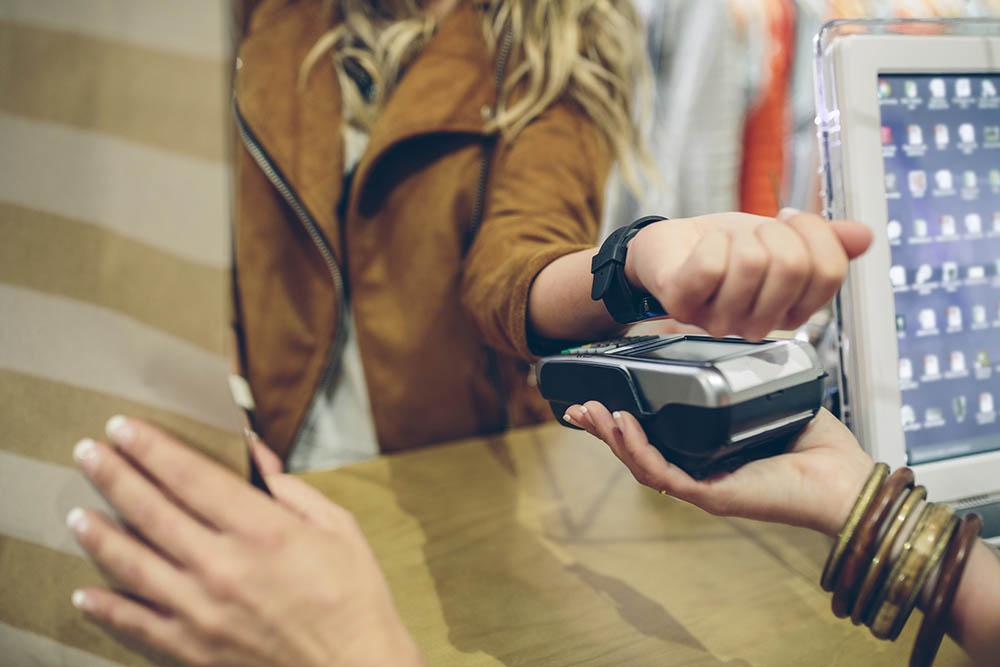 smartwatch NFC betaling