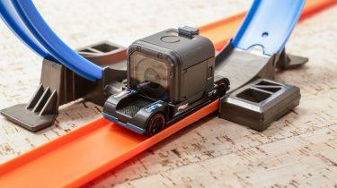 Hot Wheels GoPro-auto