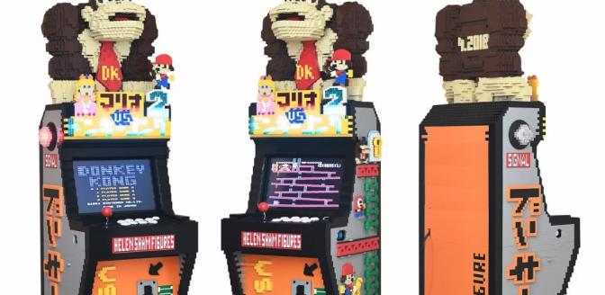 LEGO arcademachine