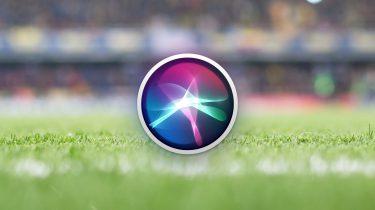 Siri WK voetbal Apple