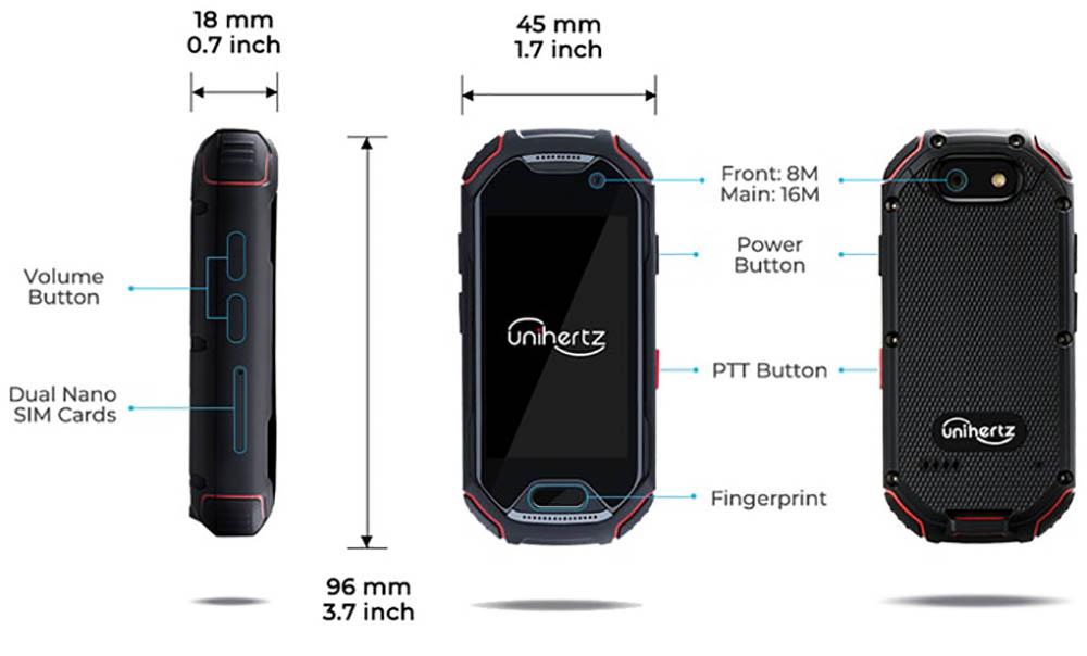 Atom mini smartphone