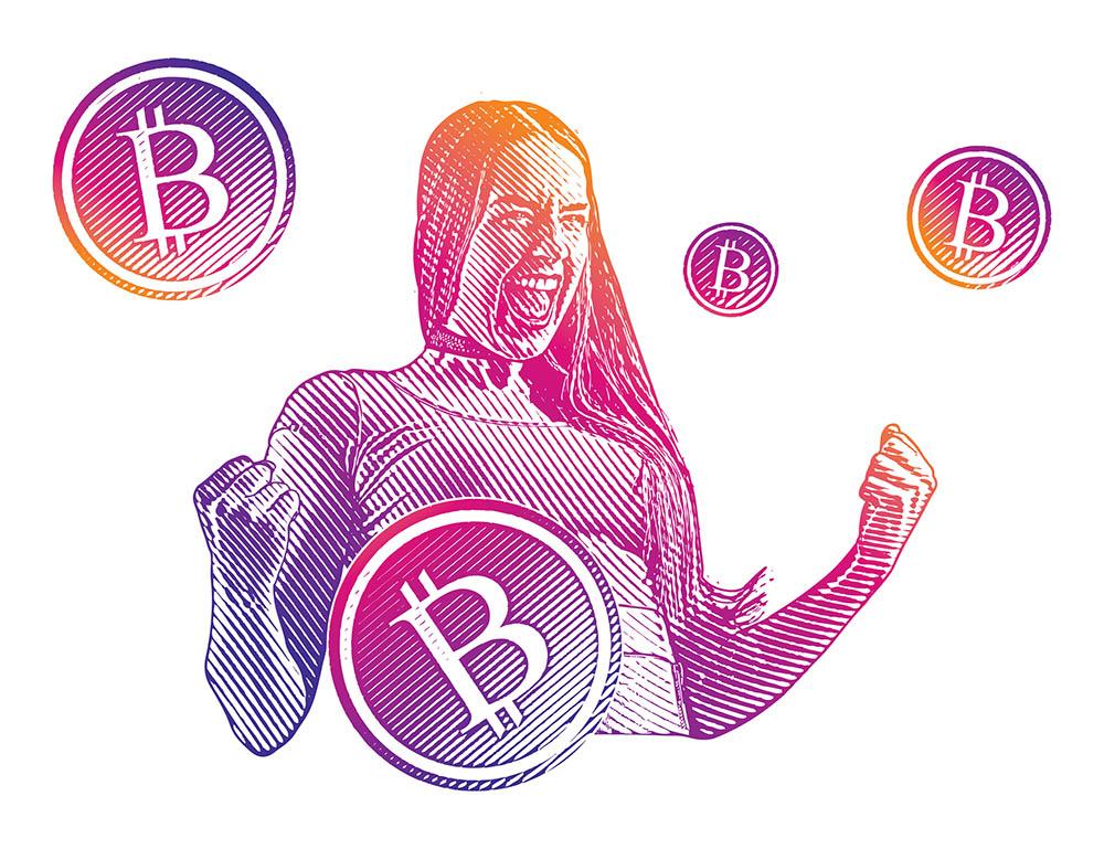 Bitcoin enthousiast Bitcoin Epidemie