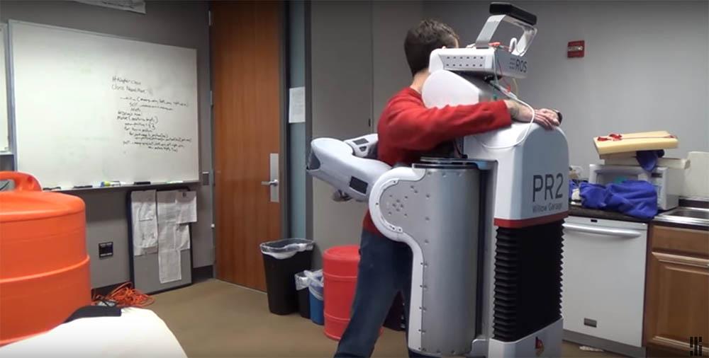 HuggieBot knuffel robot