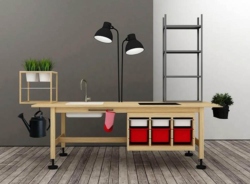 Ikea hack mobiele keuken