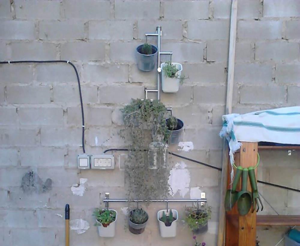 Ikea hack plantenmuur