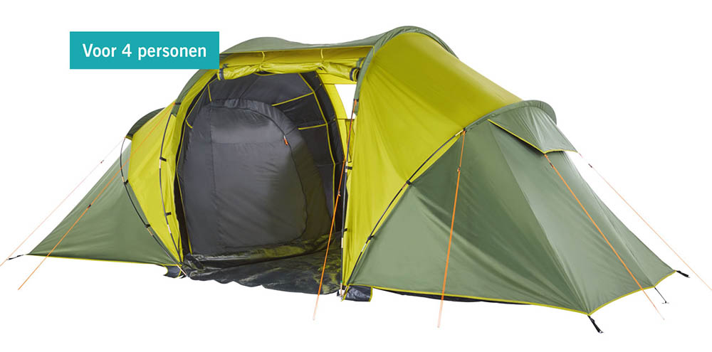 Lidl 4-persoons tent