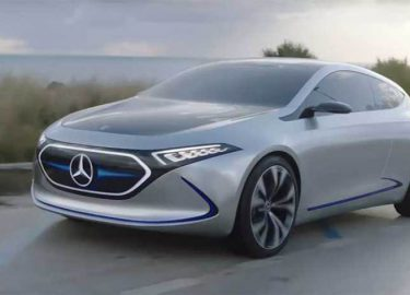 Elektrisch Mercedes Eqa Prototype Maakt De Weg Al Onveilig Want