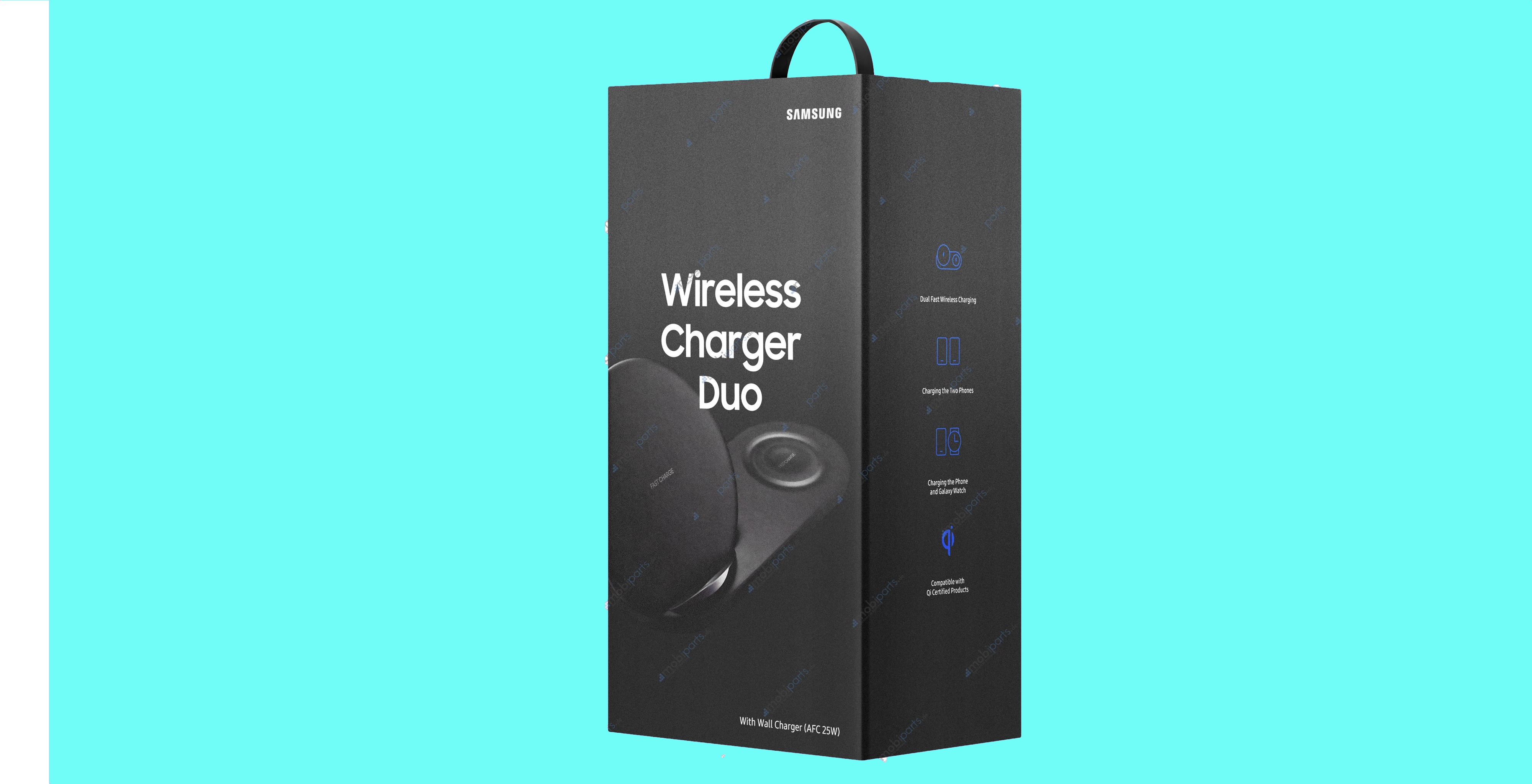 Samsung Wireless Duo Charger Samsung draadloze oplader Airpower