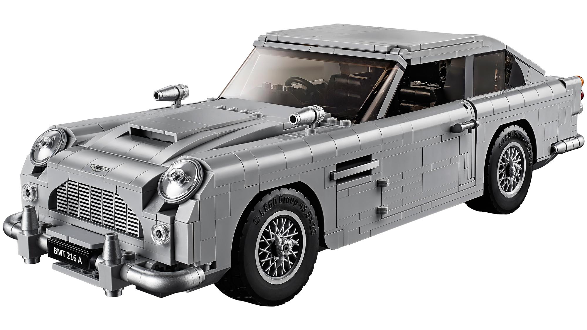 James Bond Aston Martin DB5 LEGO set
