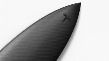 Tesla surfplank surfboard