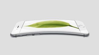 Gebogen iPhone opvouwbare iPhone