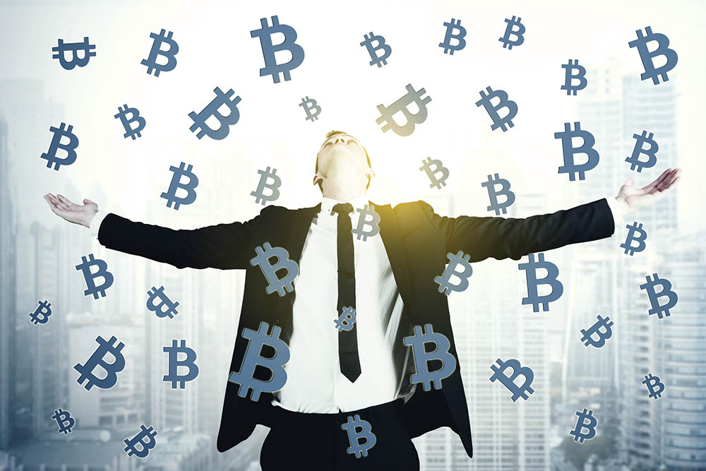 Bitcoin cryptocurrencymarkt