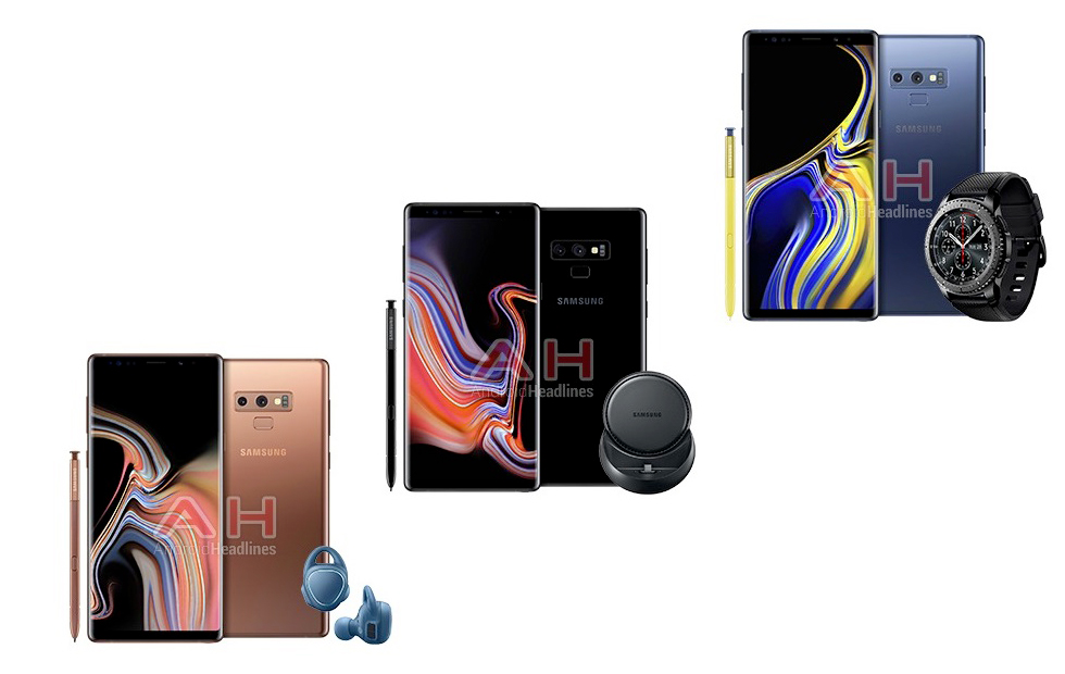 Samsung Galaxy Note 9 Samsung Galaxy Watch