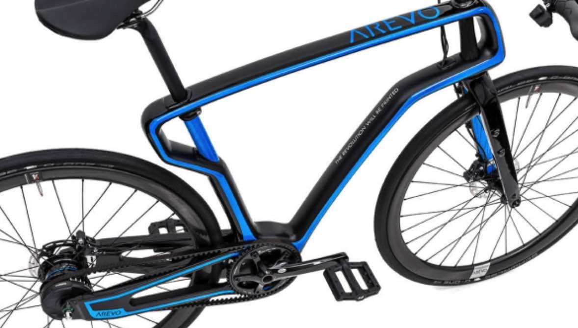 fiets frame 3d print