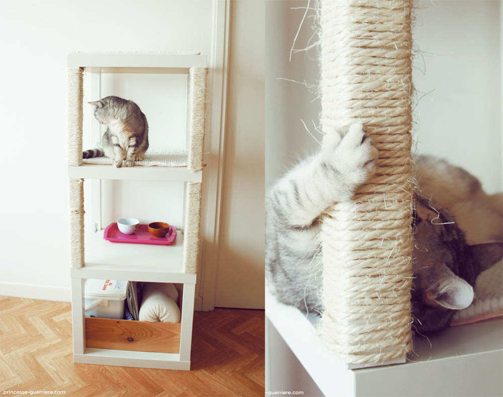 Ikea hack krabpaal