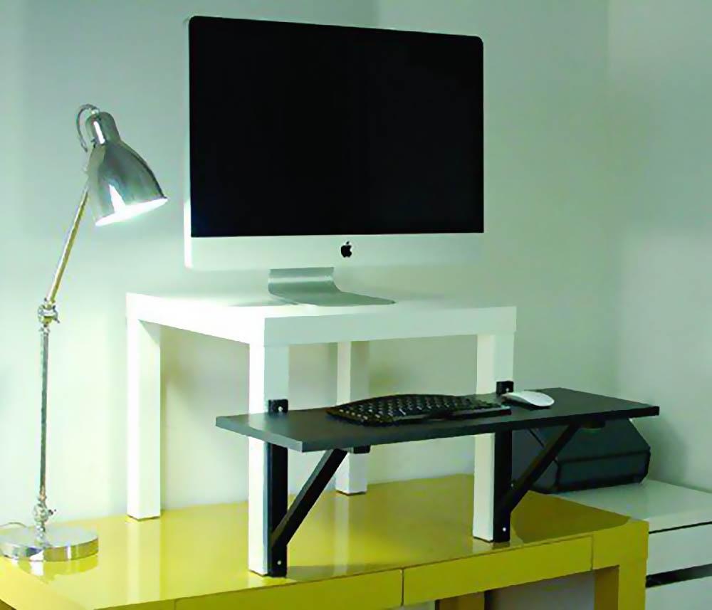 Ikea hack sta bureau