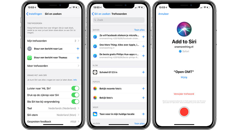 iOS 12 Shortcuts