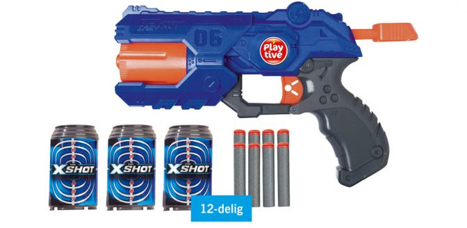 Lidl X-shot REFLEX 6 blaster