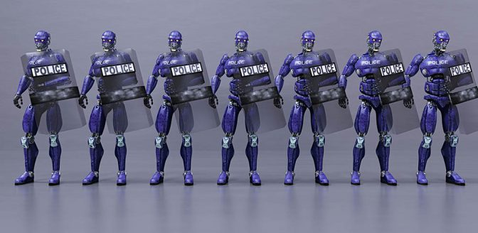 Robot politie autonome wapens
