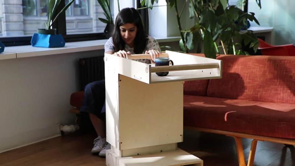 Relay robotische meubels