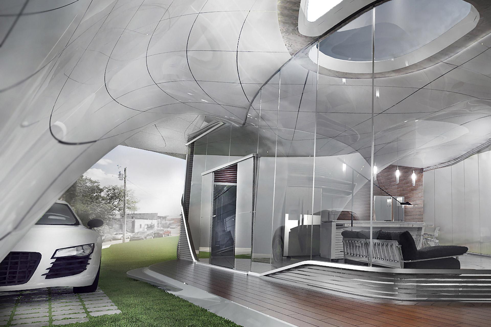 3d print huis