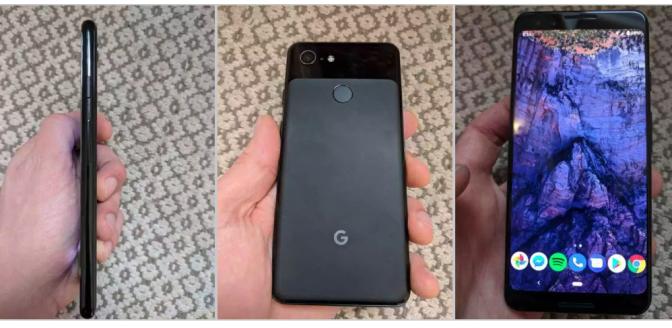 Google Pixel 3 specificaties foto's