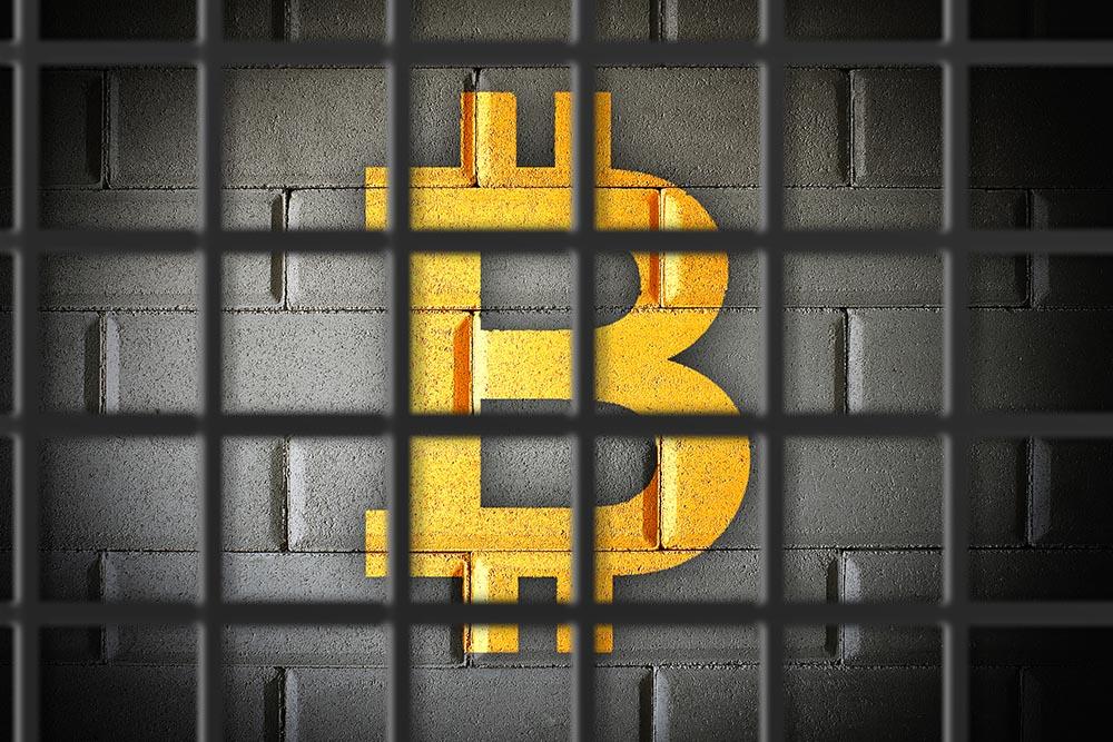 Bitcoin gevangenis