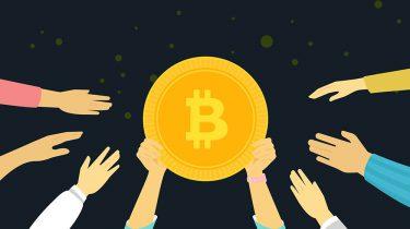 Bitcoin handen