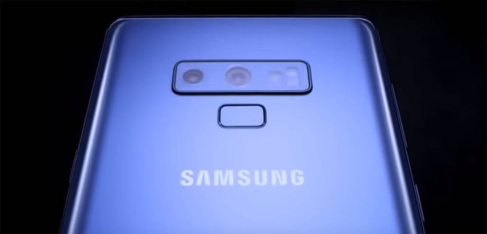 Samsung Galaxy Note 9 video lek