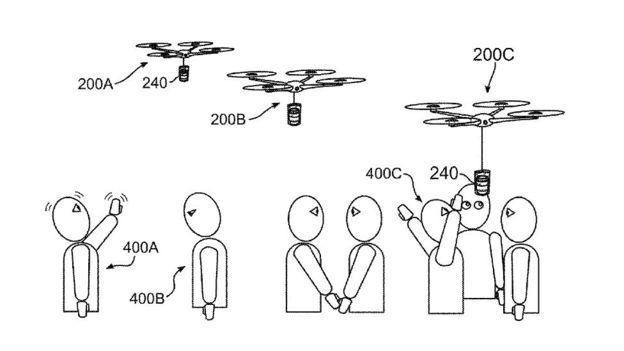 IBM patent koffie drone