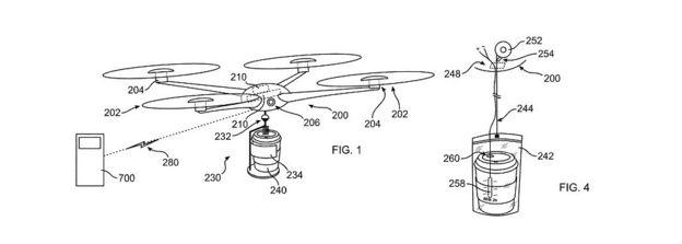 IBM patent drone