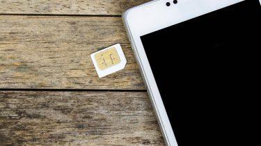 smartphone SIM-kaart