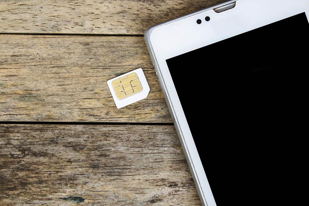 smartphone simkaart