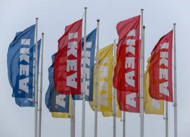 Ikea vlaggen jaloezie