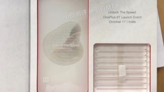 OnePlus 6T uitnodiging