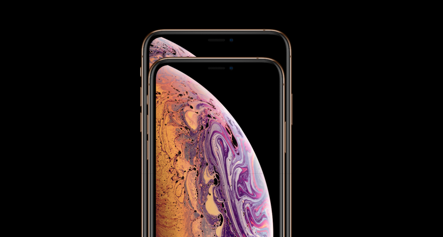iphone XS en iphone xs max