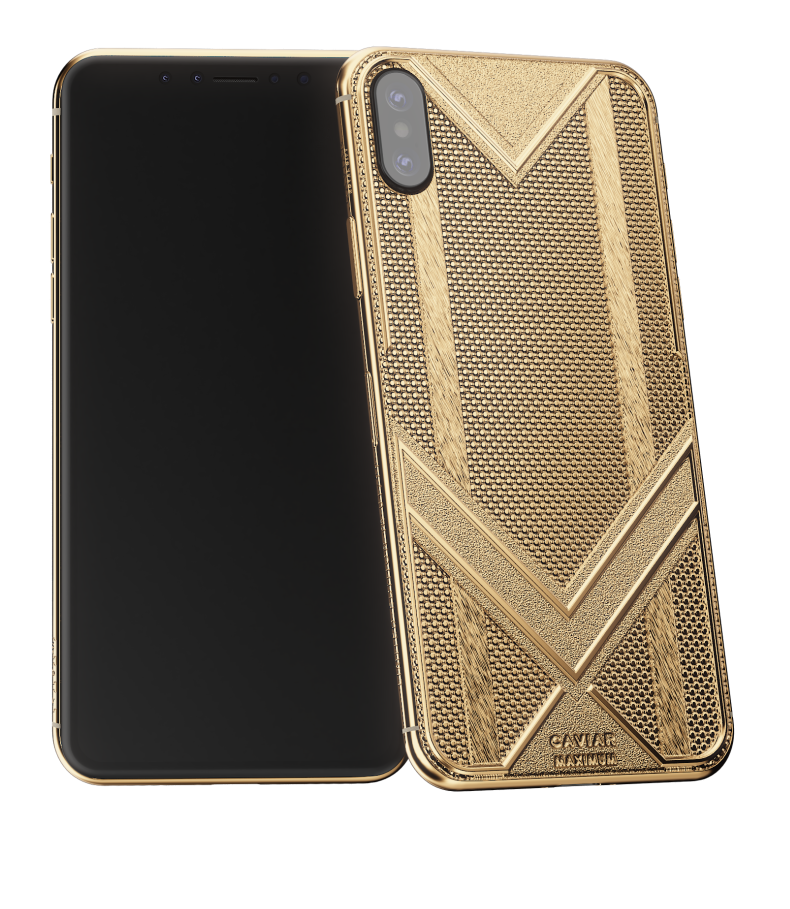 iPhone Xs Max Maximum Fine Gold Edition