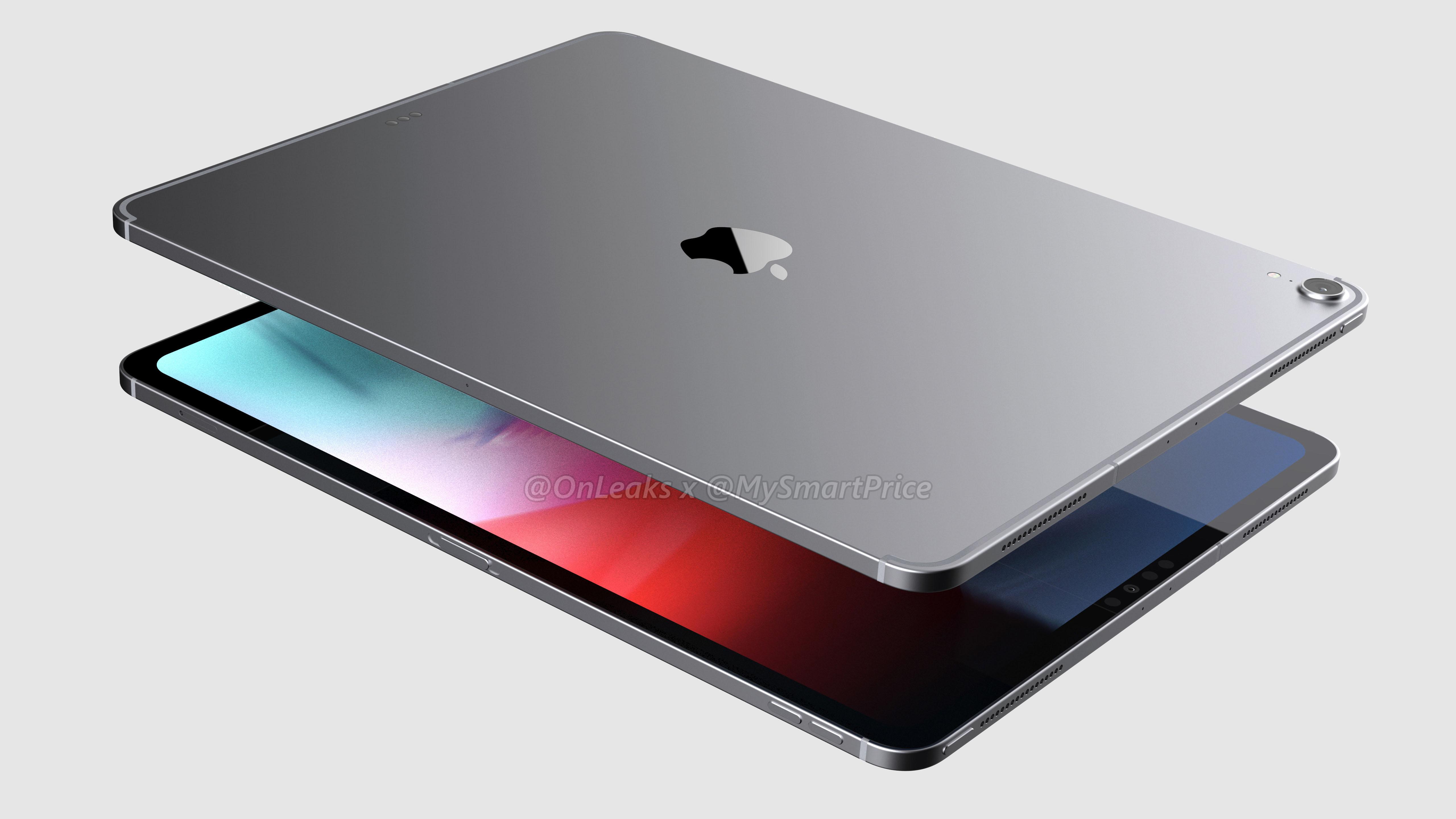 renders 12.9-inch iPad Pro 2018