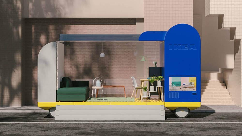 Ikea cafe autonome shuttle